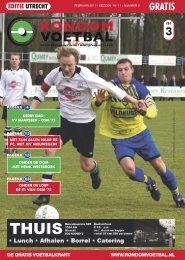 seizoen 2010/2011 nummer 3 - Rondom Voetbal