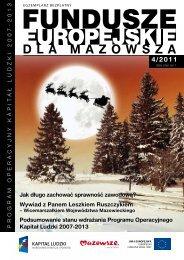 Nr 4/2011 (2012-01-09) - Mazowiecka Jednostka Wdrażania ...