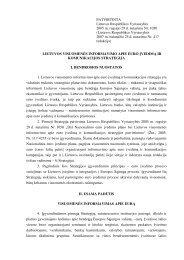 Lietuvos visuomenės informavimo apie euro įvedimą ir ...