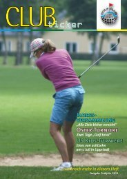 Frühjahr 2012 - Golfclub Lippstadt