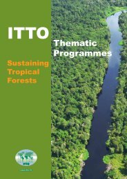 Thematic Programmes - ITTO