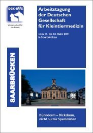 Dünndarm - Dickdarm, nicht nur für SPezialisten - Zur Giessener ...