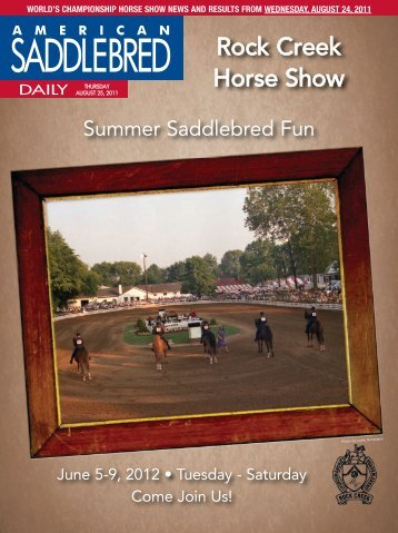 Saddlebred Moments Share your favorite photos and view hundreds ...