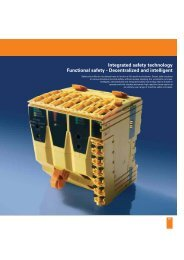 Integrated Safety Technology Functional Safety
