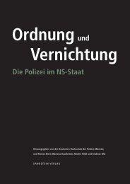 ordnungund Vernichtung Die Polizei im NS-Staat - Deutsches ...