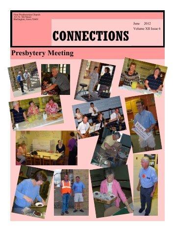 CONNECTIONS - First Presbyterian Church, Burlington Iowa