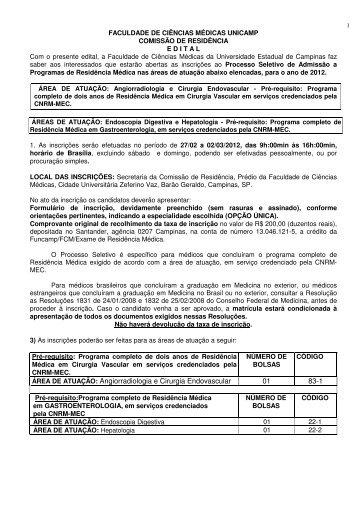 Clique para ver o edital - Sociedade Brasileira de Hepatologia