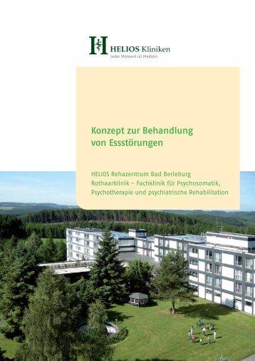 Konzept zur Behandlung von Essstörungen - HELIOS Kliniken GmbH