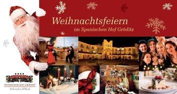 Weihnachtsfeiern - Hotel Spanischer Hof