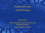 Housing with Care and Technology - CareNet