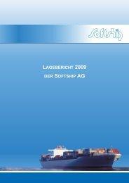 Lagebericht 2009 der AG - Softship.com