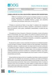 Orde DOG Martes, 26 de febreiro de 2013 - Portal educativo - Xunta ...