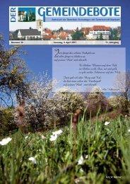 Gomaringen 09.04.11.pdf - Gomaringer Verlag