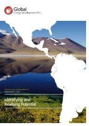 Interim Report 2008 - Global Energy Development
