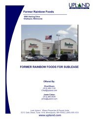 Former Rainbow Foods - Upland Real Estate Group