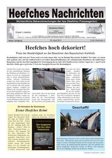 Nr. 4 vom 03. April 2011 - Marx, Ruge und Holzhauser