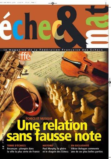 3 - Fédération Française des Échecs
