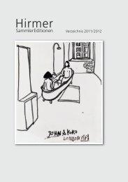 Verzeichnis_SammlerEditionen_Layout 1 - Hirmer Verlag