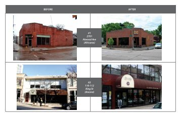 Facade Grants Before and After Photo Pages - City of Madison ...