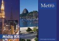 Mídia Kit - Metro Magazine