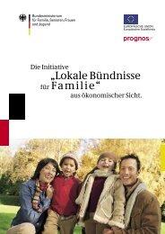 Lokale Bündnisse aus ökonomischer Sicht - Jena