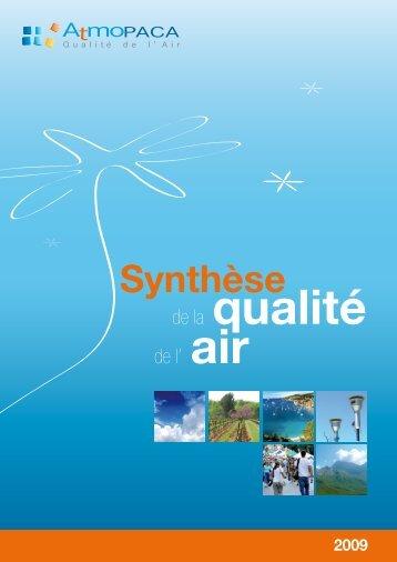 Synthèse - Atmo Paca