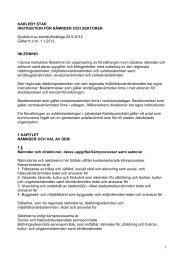 Instruktion för nämnder och sektorer - Kokkola