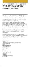 Programmation au format PDF - Bibliothèque et Archives nationales ... - Page 3