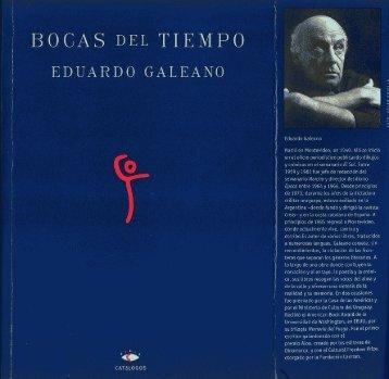 Eduardo Galeano - Bocas Del Tiempo