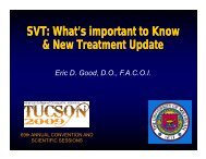 SVT: What's important to Know & New Treatment Update