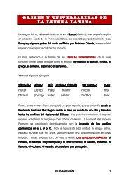 1. introducción a la lengua latina