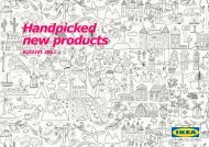 New Products for August - IKEA Catalog 2013