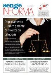 Departamento Jurídico garante os direitos da categoria - Senge-MG
