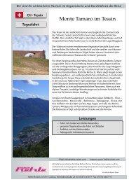 1 Tag - 8 Vorschläge - hehle-reisen.com