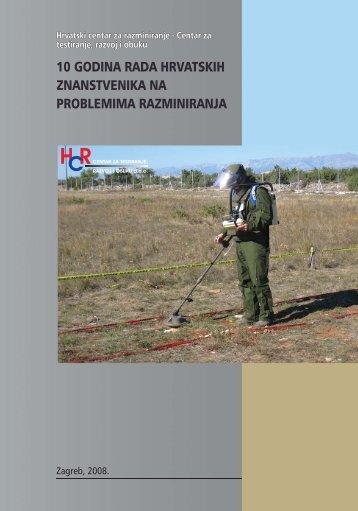 10 godina rada hrvatskih znanstvenika na problemima razminiranja
