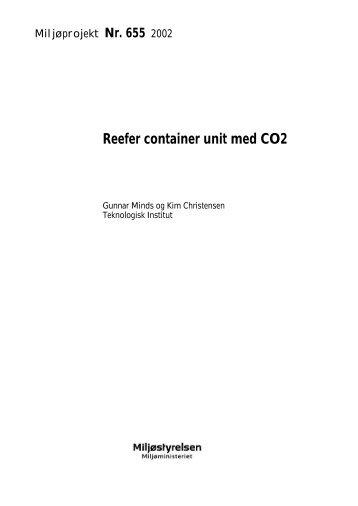 Reefer container unit med CO2 (401 KB) - HFC fri køling