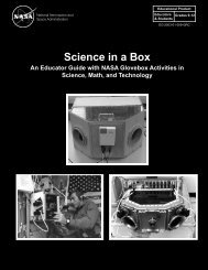 Science in a Box pdf - StarGazers - NASA