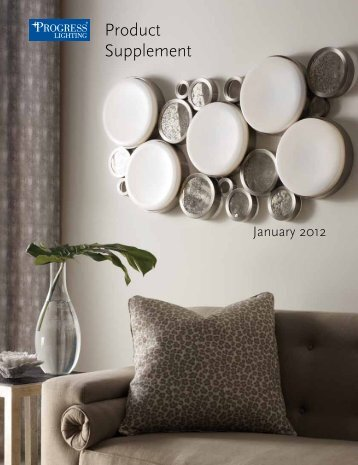 Progress Lighting January 2012 Supplement - Hansen Wholesale