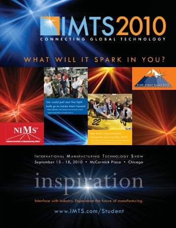 Few field trips validate classroom learning like IMTS! You could just ...
