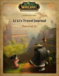 Li Li's Travel Journal - Blizzard Entertainment