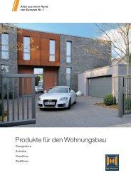 Produkte für den Wohnungsbau - Hörmann KG