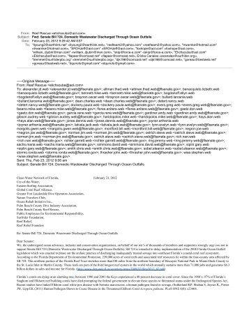 read letter - Surfrider Foundation