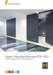 Feuer- / Rauchschutztüren STS / STU - Hörmann KG