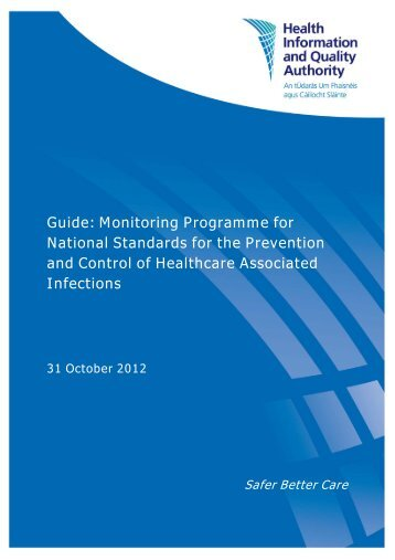 Guide: Monitoring Programme for National Standards for ... - hiqa.ie