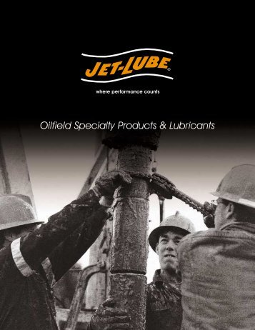 Oilfield Specialty Products & Lubricants - Federal International (2000 ...