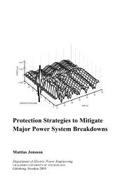 Protection Strategies to Mitigate Major Power System Breakdowns