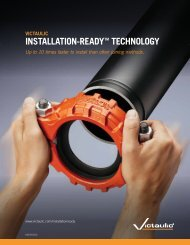 INSTALLATION-READY TECHNOLOGY - Victaulic