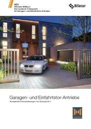 Garagen- und Einfahrtstor-Antriebe - Hörmann KG