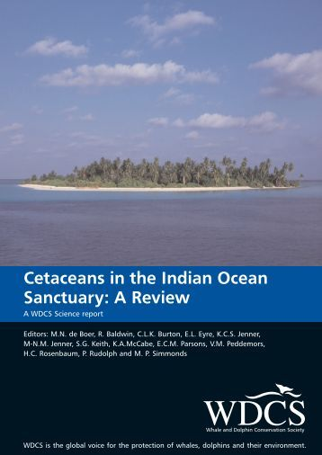 Cetaceans in the Indian Ocean Sanctuary: A Review