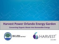 Harvest Power Orlando Energy Garden - Recycle Florida Today